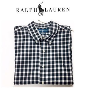Ralph Lauren Classic Fit Plaid Button down Shirt